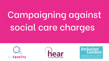 Campaigning against social care charges